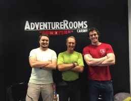 """Adventure Rooms Cardiff is """"Absolutely Brilliant Fun"""""""