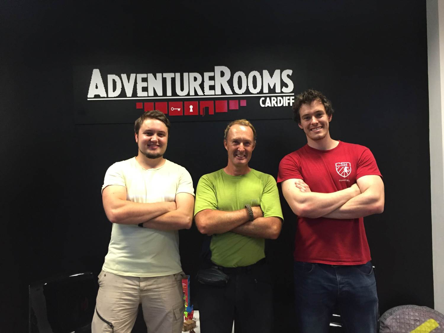 "Adventure Rooms Cardiff is ""Absolutely Brilliant Fun"""
