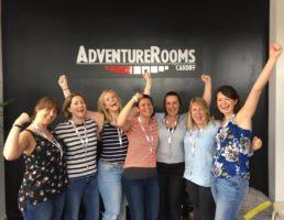 AdventureRooms Cardiff Adventure Log - Emma Tippings